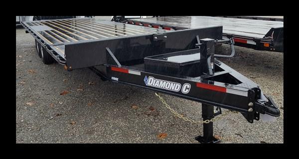 2017 Diamond C 13 DEC 24' Equipment Trailer