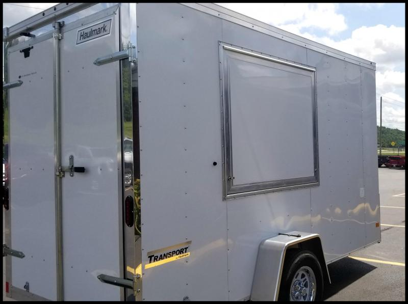 2017 Haulmark 6X12 Vending / Concession Trailer w/Chrome Nose