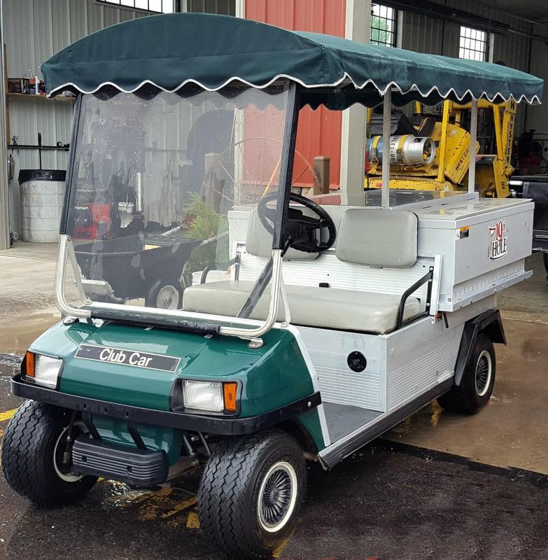 2000 Club Car Beverage Cart