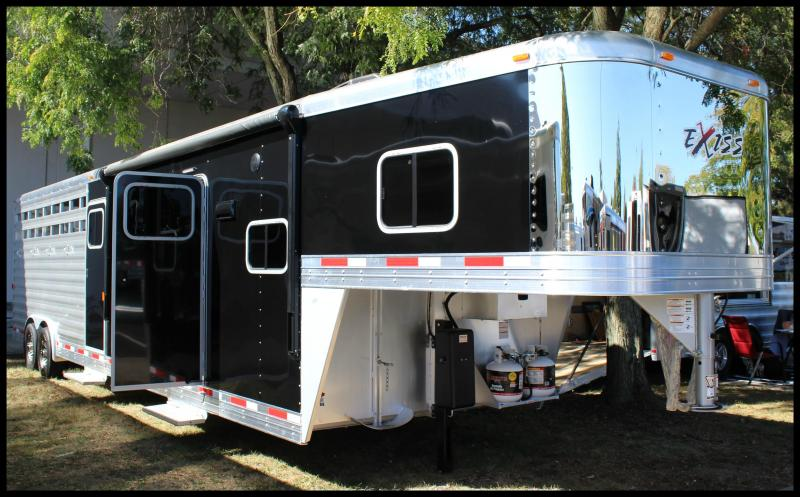 2018 Exiss 8032 Stock Combo Trailer