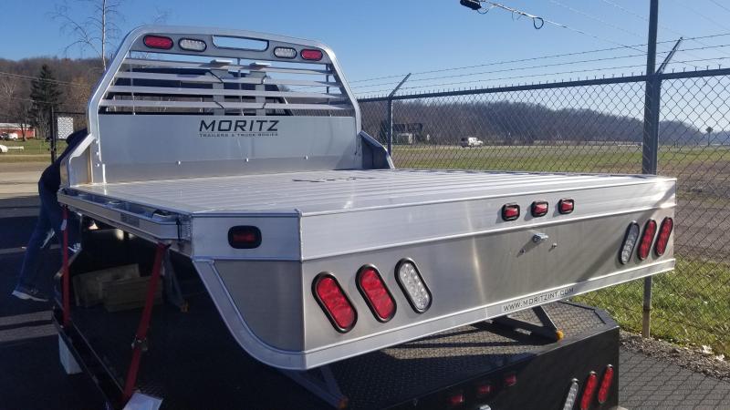 2017 Moritz 8'Wx9'4L (Dually) Aluminum Truck Bed