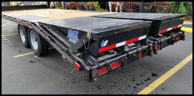 2017 Diamond C 13DEC 22' Heavy Duty Deck-Over Equipment Trailer