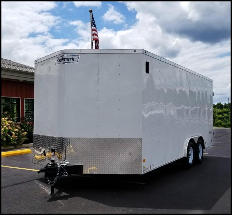 """2018 Haulmark 8'5x18' """"Contractor's Special"""" Cargo Trailer"""