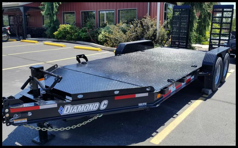 "2017 Diamond C 19LPX  82""x16' ""Skid Steer"" Equipment Trailer"