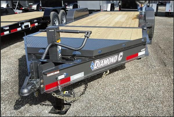 2017 Diamond C 48HDT 20' Low Pro Equipment Trailer