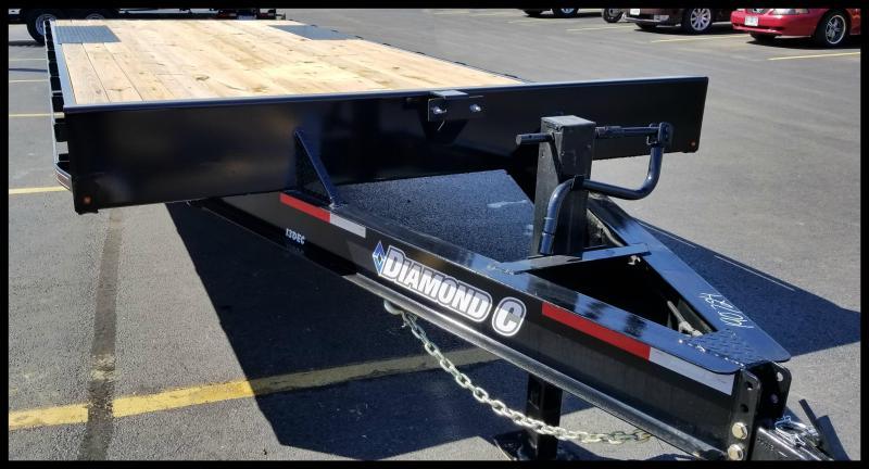 2017 Diamond C 13DEC 24' Heavy Duty Deck-Over Equipment Trailer