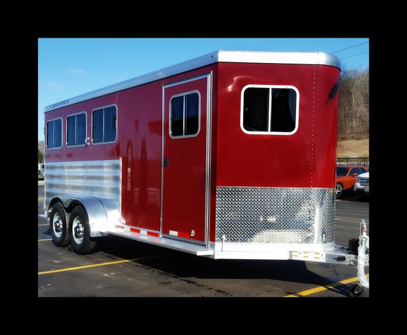 2017 Featherlite 9409 3-Horse Slant Load