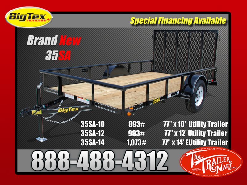 Small Single Axle Utility Trailer--GREAT DEAL!