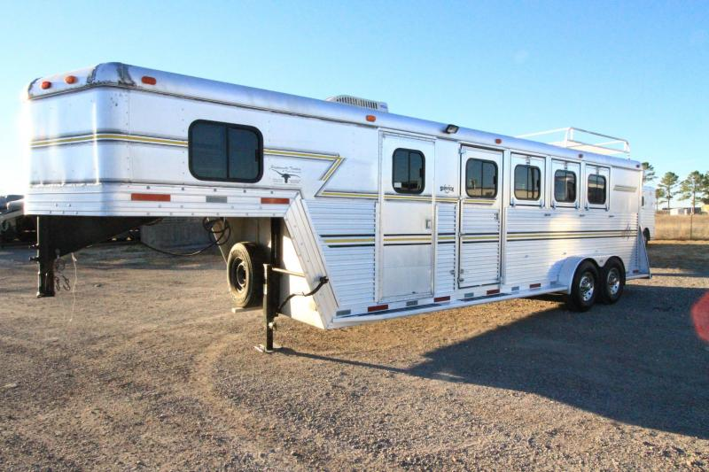 1996 Side Kick 4 Horse Trailer