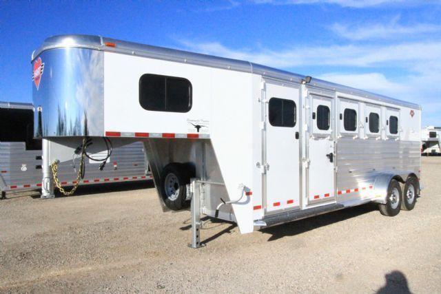 2016 Hart MVP 4 Horse Slant Load Gooseneck Horse Trailer