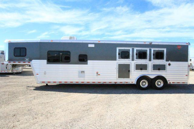 2014 Hart Ultimate 3 Horse 14' SW Living Quarters