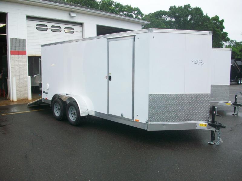 2018 Cargo Express 7x16 V-Nose Aluminum Cargo Cargo / Enclosed Trailer 2017355
