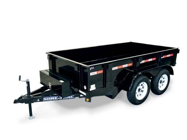 2017 Sure-Trac 5 x 10 ft. Low Profile Homeowner Dump Dump Trailer 2016949