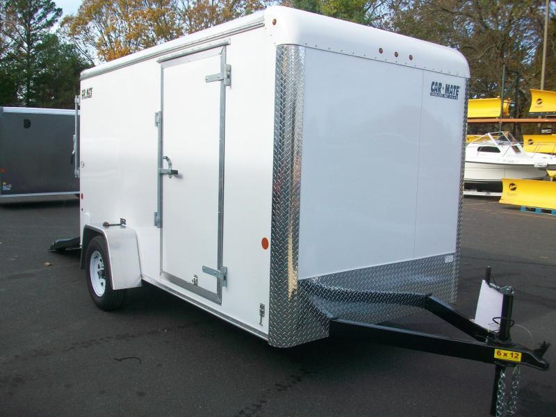 2018 Car Mate Trailers 6x12 Enclosed Cargo Trailer 2017997