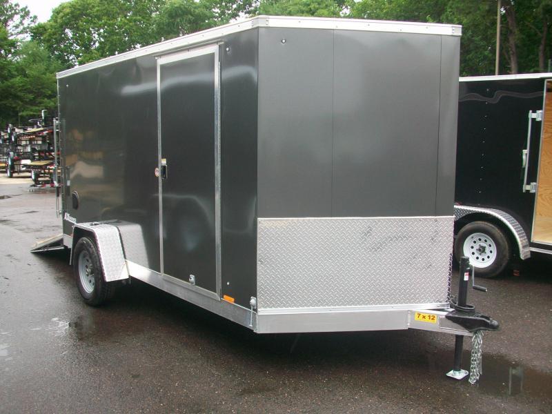 2018 Cargo Express 7x12 V-Nose Enclosed Cargo Trailer 2017354