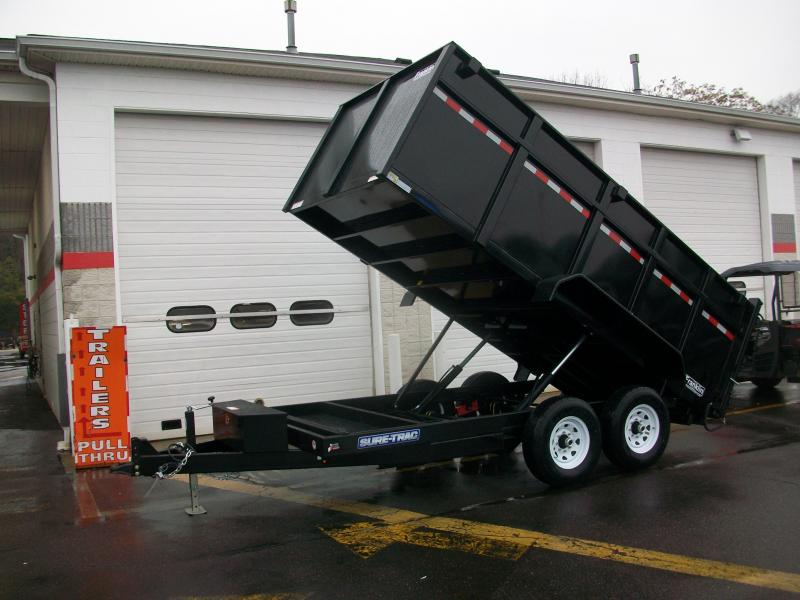 2016 Sure Trac 82 in. x 14 ft. HD Low Profile Dump  2016392