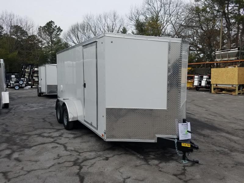 2019 Cargo Express 7X14 Enclosed Cargo Trailer 2019928