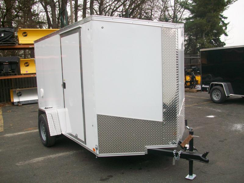 2018 Cargo Express 6x10 V-Nose Enclosed Cargo Trailer 2018077