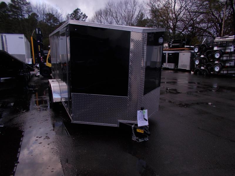 2020 Cargo Express 7x14 V-Nose Cargo / Enclosed Trailer 2020021