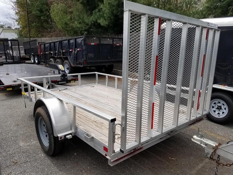 2017 Carry-On Used 6x10 Aluminum Utility Trailer
