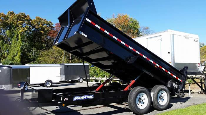 2017 Sure Trac 82 in. x 16 ft. HD Low Profile Dump  2016626