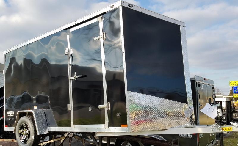 2017 Qualitec 6x12 Aluminum Cargo Trailer 2016283