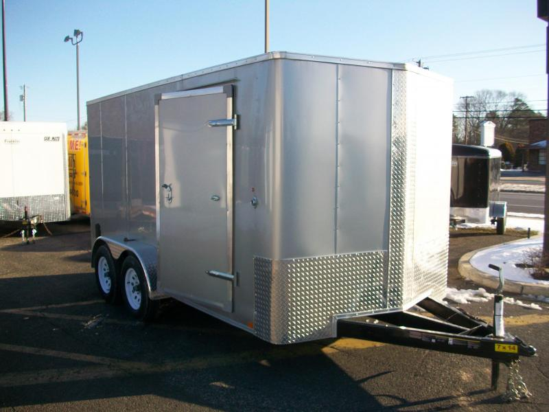 2017 Carry-On 7x14 Bull Nose Enclosed Cargo Trailer 2016568