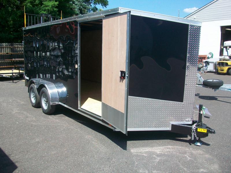 2018 Cargo Express 7x16 Enclosed Cargo Trailer 2017646