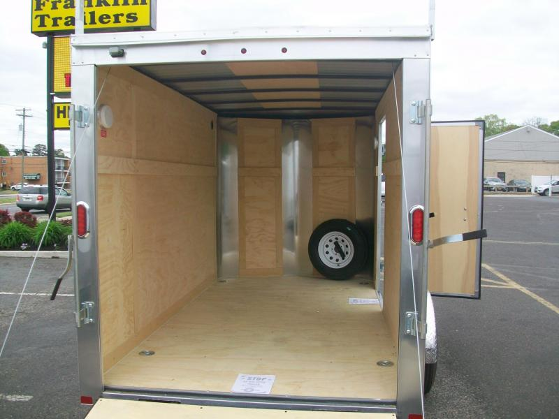2017 Carry-On 6x12 Bull Nose Eclosed Cargo Trailer 2016345