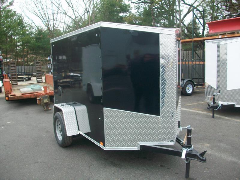 2018 Cargo Express 5x8 V-Nose Enclosed Cargo Trailer 2018074
