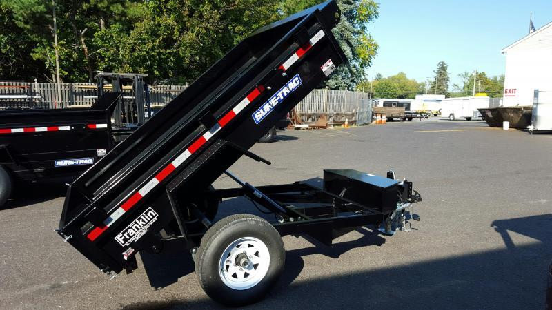 2017 Sure-Trac 5 x 8 Low Pro Dump Trailer 2016547