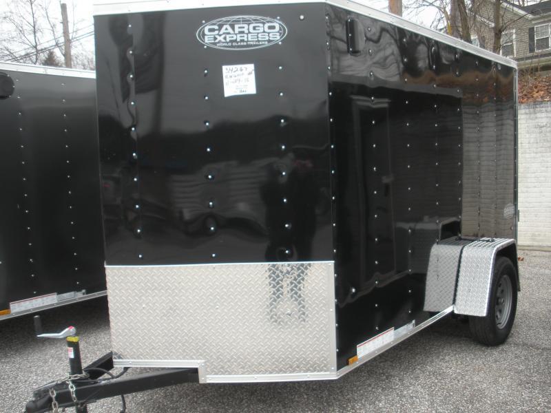 2019 Cargo Express XLW 6' X 12'  Enclosed Cargo Trailer