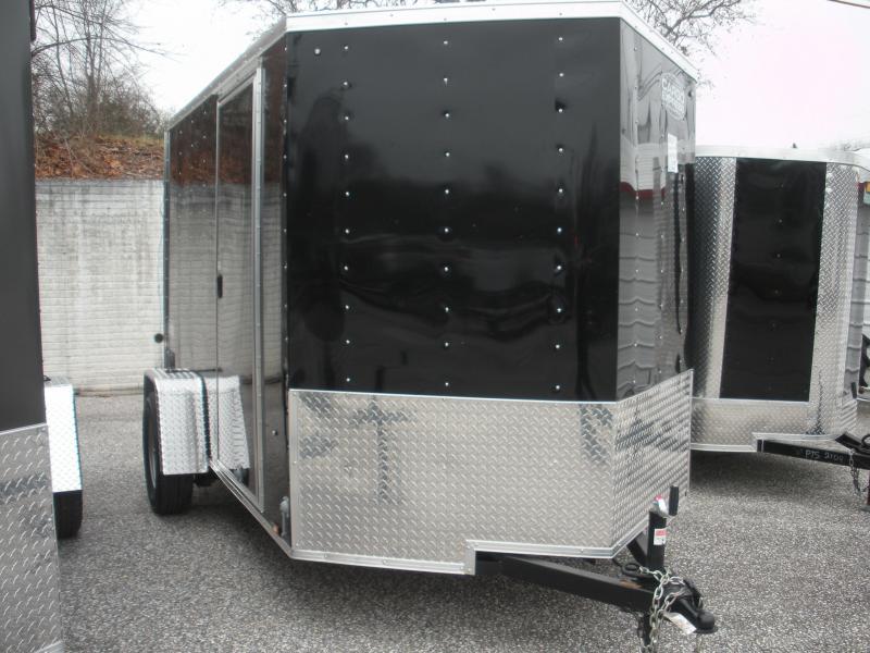 2019 Cargo Express 6' X 10' Enclosed Cargo Trailer