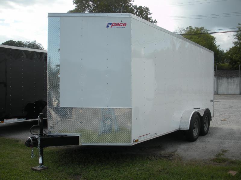 2019 Pace American JV7X16TE2 Enclosed Cargo Trailer