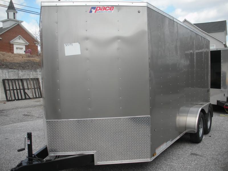 2019 Pace American Journey 7' X 14' Enclosed Cargo Trailer