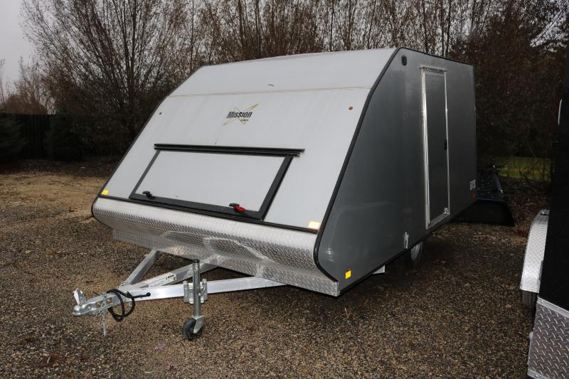 2017 Mission 12' Crossover Snowmobile Trailer