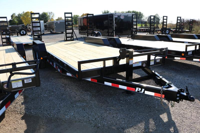 2018 PJ Trailers 20' CC Equipment Trailer