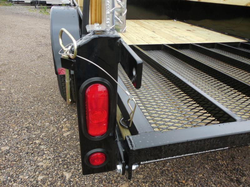 2017 Rugged Terrain 83.5x14 MR Solid side Utility Trailer