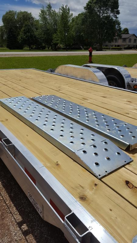 2017 Quality Steel 82x20' Alum. Car Hauler Trailer