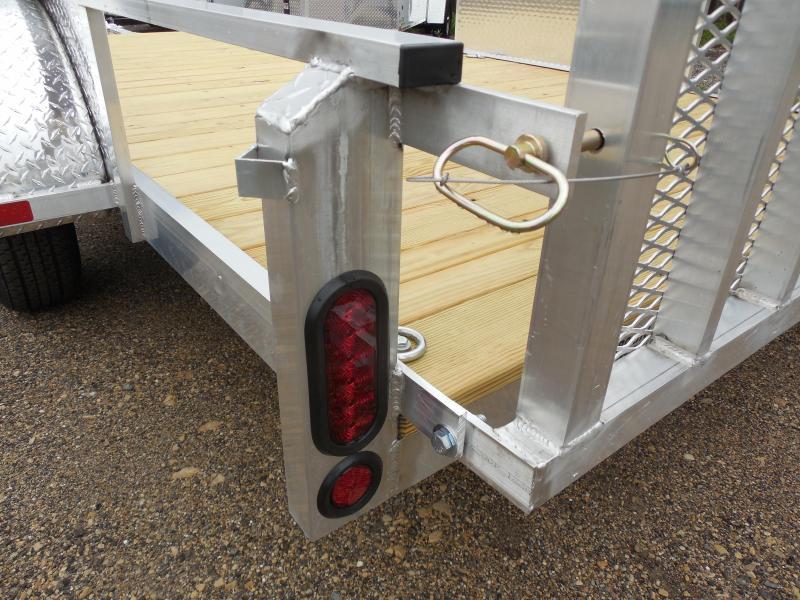 2017 Rugged Terrain 6.5x12 Pro Pull Rail Utility Trailer