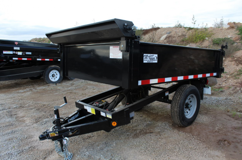 2018 Quality Steel and Aluminum 5x8 Dump Trailer