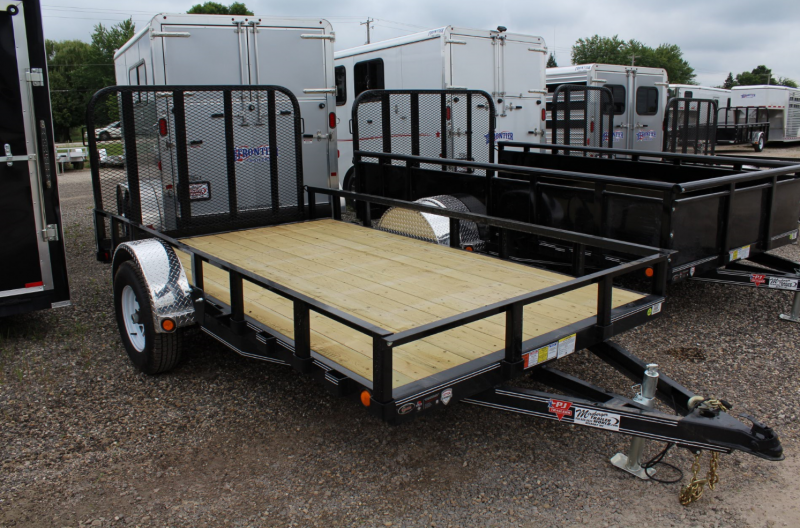 "2017 PJ Trailers 12'x77"" Channel Utility Trailer"