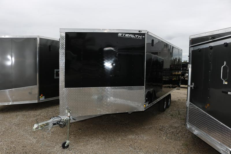2018 Stealth Trailers 8.5x25' Apache Snowmobile Trailer