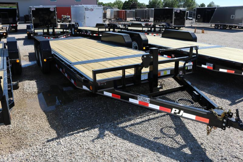 2018 PJ Trailers 20' Channel Equipment Trailer
