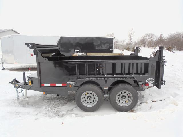 2018 Quality Steel Dump Trailer 6x10 10k with Ramps and Tarp