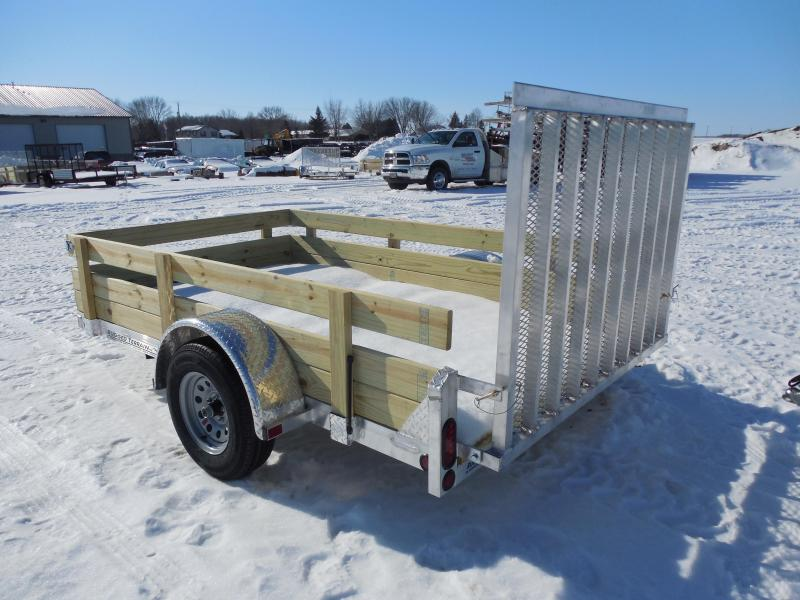 2017 Rugged Terrain 6x10 Ez Pull w/Wood Sides Utility Trailer