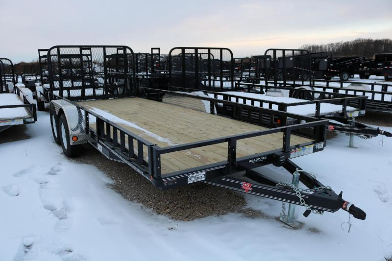 "2018 PJ Trailers 18x83"" Channel Trailer"