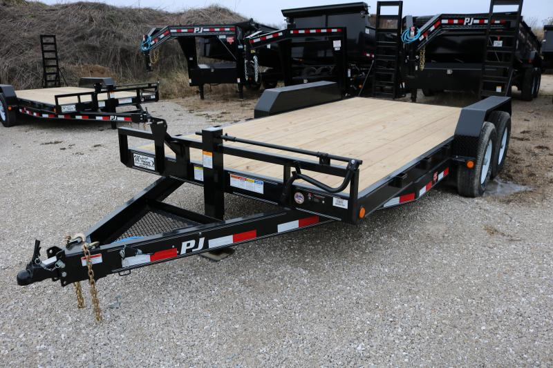 2018 PJ Trailers 16' Channel Equipment Trailer