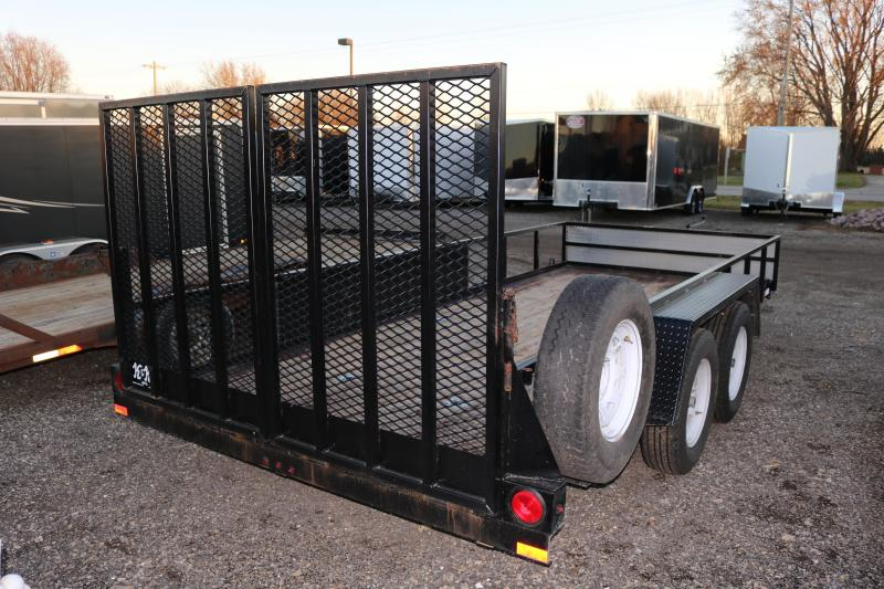 2016 K and K Trailers 80x16' Utility Trailer