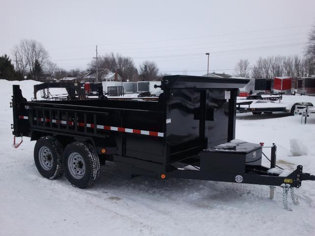 2018 Quality Steel Dump Trailer 83X12 Dump and Go with Tarp